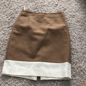 J crew two toned pencil skirt